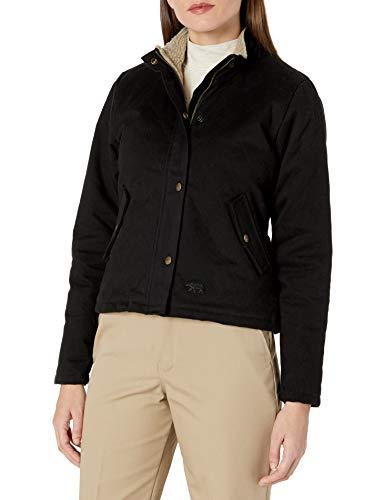 Polar King Herren Berber Lined Quilted Jacket-Black Oberbekleidung, Schwarze Kleidung, XX-Large