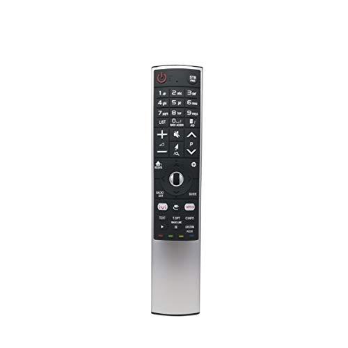 IHANDYTEC MR-700i LG - Mando a Distancia de Repuesto para televisores LG Smart (LED, LCD, Plasma, reconocimiento de Voz y ratón de Aire), Color Plateado