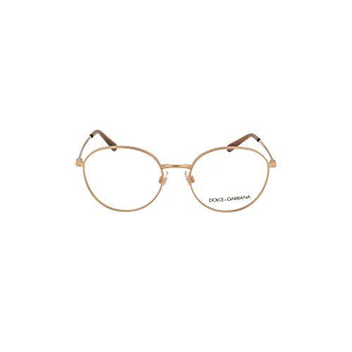 Dolce & Gabbana Occhiali da Vista SLIM DG 1322 ROSE GOLD 51/18/140 donna