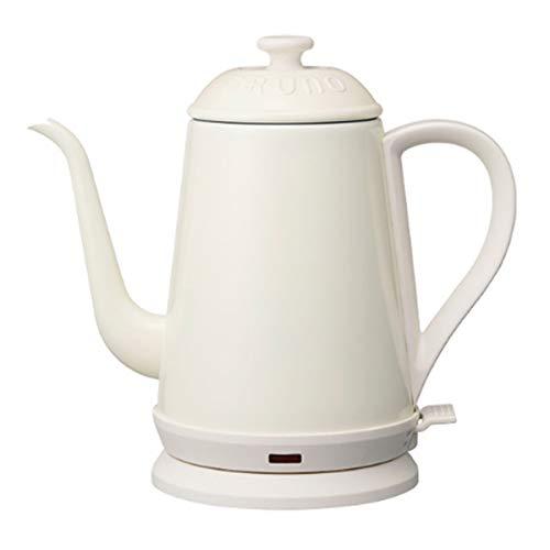 BRUNO ブルーノ ポット 湯沸かし器 ケトル 1リットル お茶 おしゃれ ホワイト 父の日 プレゼント ギフト 贈り物 BOE072-WH
