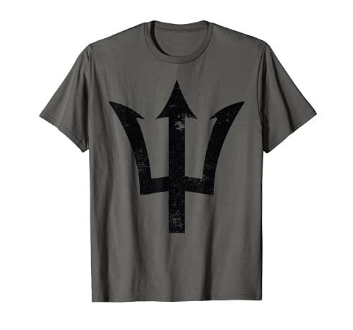 Poseidon Symbol T-Shirt Trident Greek God Mythology T-Shirt