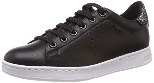 Geox Damen D Jaysen Sneaker, Schwarz, 40 EU