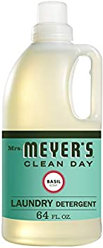 Mrs. Meyers Laundry Detergent Basil, 64 fl oz