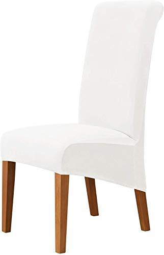 Mazu Homee Funda de terciopelo para silla de comedor, suave funda de sofá retráctil, funda de silla extraíble y lavable
