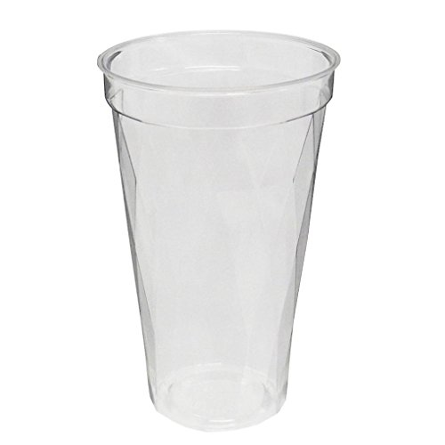 旭化成パックス (キラキラ)透明プラカップ 50個入り 17オンス(満杯容量510ML 推奨容量380ML)CIP-528D 口径8.8cm