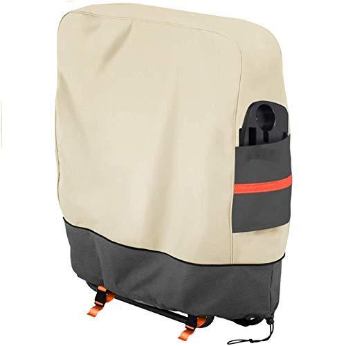 Funda para silla de jardín SOKINGCOVER gravedad cero, cubierta plegable al aire libre, impermeable, plegable, césped, impermeable y resistente a los rayos UV (1 unidad)