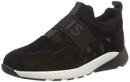 Maripe Damen 27504 Slip On Sneaker, Schwarz (Camoscio Nero 3), 39 EU