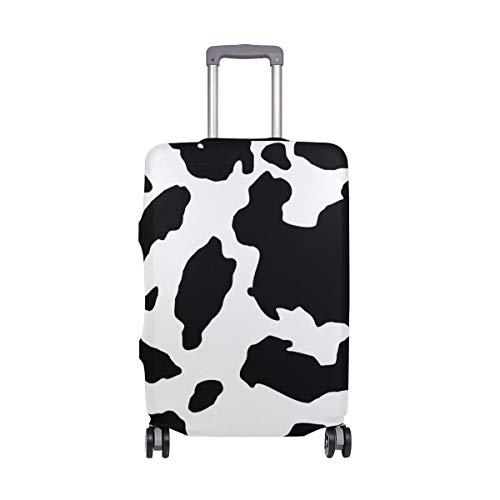 ALINLO - Copertura per bagagli a forma di mucca, adatta per valigie da viaggio da 45,72 cm