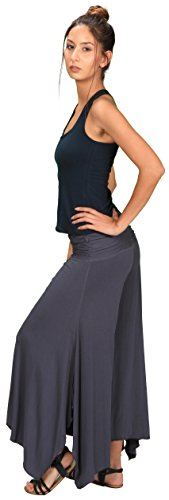 Women's Ruched Waistband Flowy Pants