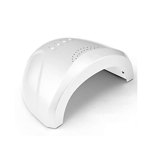 MODRYER 24 / Esmalte De Uñas De Pulido Y Gel De 48W LED UV De Curado 30 Granos De La Lámpara Secador De Uñas Rápido con Función De Temporización 5/30 / 60S,White