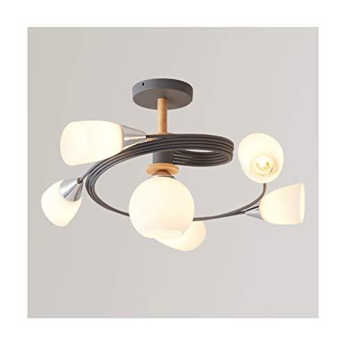 WFL hanglamp Nordic Creative E27 smeedijzeren dimbaar woonkamer decoratie slaapkamer eettafel studie kleding winkel restaurant plafondlampen verlichting