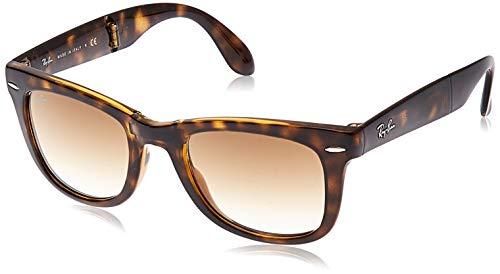 Ray-Ban Unisex Sonnenbrille RB4105, Einfarbig, Gr. Small (Herstellergröße: 50), Braun (710/51)