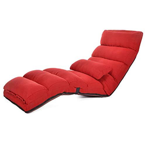 AMINSHAP Lazy Sofa Single Tatami Folding Chair Floor Bed Silla de Respaldo Flotante Window Chair Japanese Style Sofa