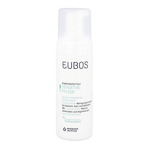 Eubos | Gesichtsreinigung Vital - Schaum| 150ml | für alle Hauttypen | Hautverträglichkeit dermatologisch bestätigt