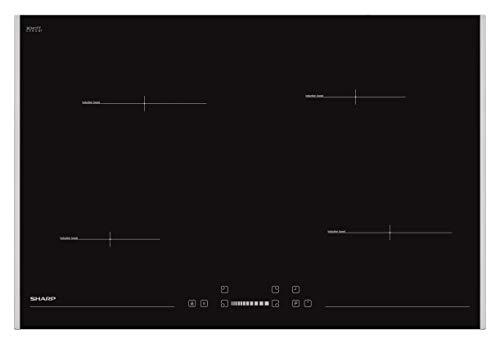 Sharp Schott Ceran KH-7IX19FS00-EU - Placa de inducción autosuficiente (78 cm)