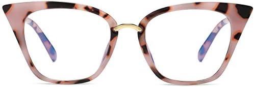 MORESHINE Cateye Anti Blue Light Blocking Computer Glasses Fashion Women Eyeglasses Frames Anti product image