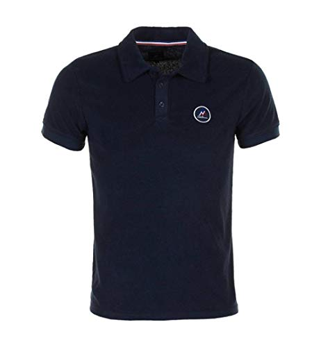 Peak Mountain Congeak/Xj – Polo-Shirt, kurzärmlig, Frottee – Herren M Marine