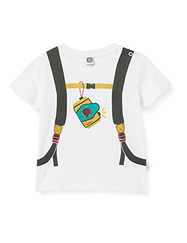 Tuc Tuc Camiseta Punto Zanzibar, Blanco, 6M para Bebés