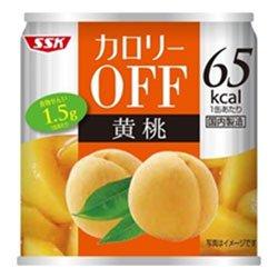 清水食品『カロリーOFF 黄桃』