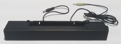 Dell 0C729C Flat Panel Stereo Sound Bar AX510 Aktivboxen Lautsprecher 12V