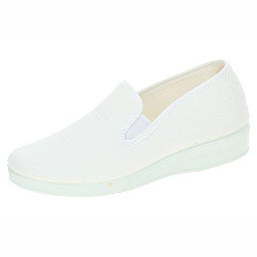 CHAPINES 362 Zapatillas Blancas SEÑORA Zapatillas Blanco 39