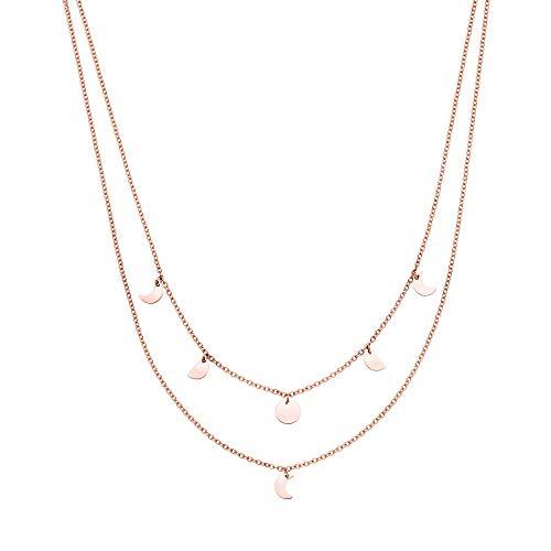 Purelei Halskette Luna (Luna-Rosegold)