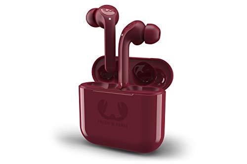 Fresh 'n Rebel Twins Tip True Wireless In-ear Headphones | Auricolari Bluetooth True Wireless Dual Master con 3 taglie di cuscinetti – Ruby Red