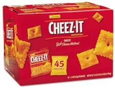 4COU San Jose Mall Cheez-it Crackers 1.5 Max 68% OFF oz Pack