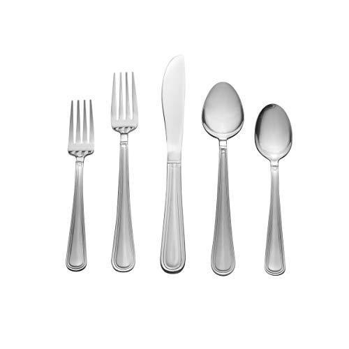Pfaltzgraff Wareham 20-Piece Flatware Set, Silver