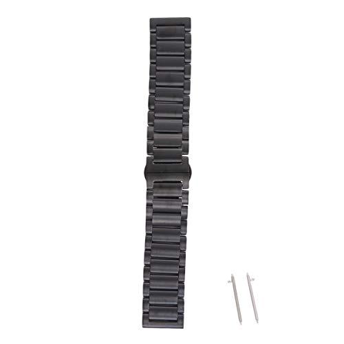 NICERIO - Pulseira de relógio compatível com Fossil Gen 4 – Pulseira de substituição de aço inoxidável para smartwatch, pulseira de reposição de liberação rápida, Fossil masculina, geração 4 com fivela borboleta