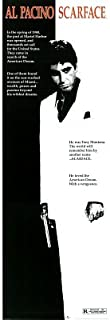 Scarface Movie Score Cult Classic Crime Drama Action Movie Film Poster Print 12 by 36