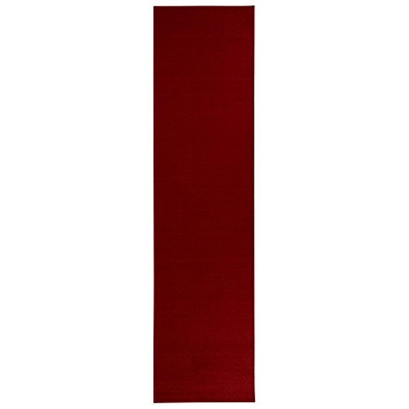 納税者創傷終点Sweet Home Stores Clifton Collection Solid Red Design Runner Rug [並行輸入品]