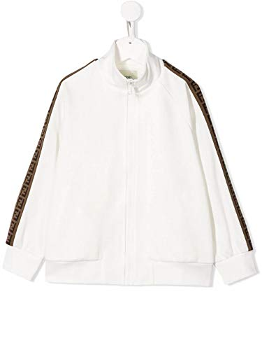Fendi Luxury Fashion Junge JUH012A69DF0TU9 Weiss Polyester Sweatshirt   Frühling Sommer 20
