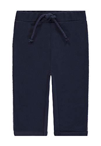 TOM TAILOR Kids Jogging Pants Solid Pantalon De Sport, Bleu (Black Iris|Blue 3800), 68 Bébé Fille