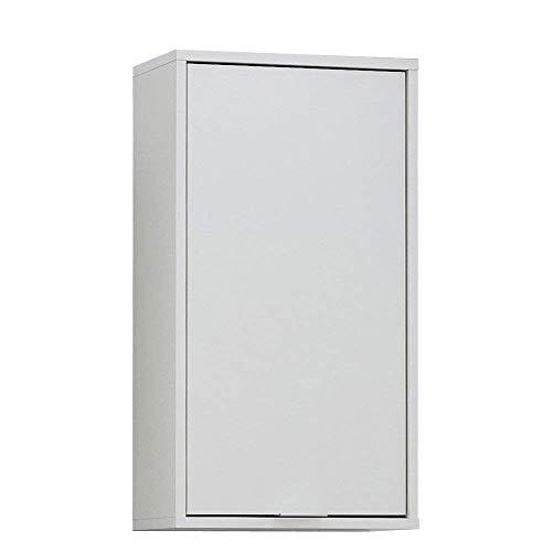 FMD Möbel  925-005 Zamora 5 Hängeschrank melaminharzbeschichtete Dekorspanplatte Weiß ca. 37,0 x 68,0 x 17,0 cm