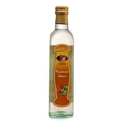 GustoPiú- Vinagre de Modena de Vino Blanco - La Mejor Forma de Alinear Tus Ensaladas - 500 ML