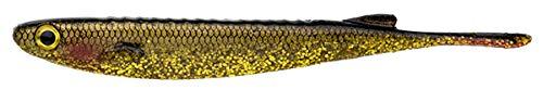 エコギア(Ecogear) ワーム カタクチミノー 4インチ #485 CPブラックゴールド 16751