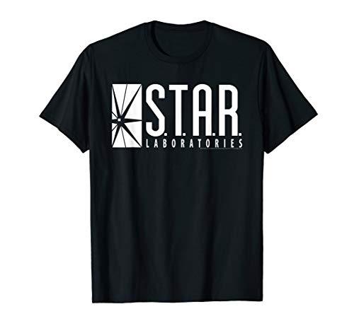 DC Comics Flash Star Labs Logo White T-Shirt
