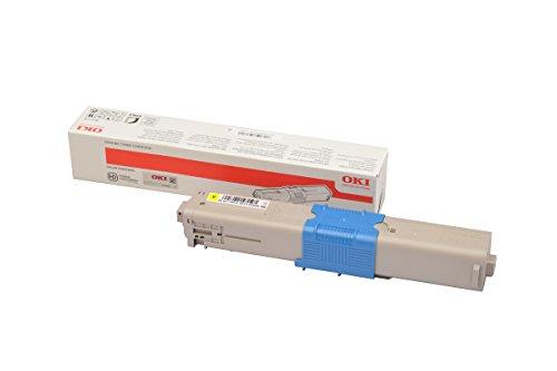 OKI 46490621 toner voor laserprinters, 6000 pagina's, geel