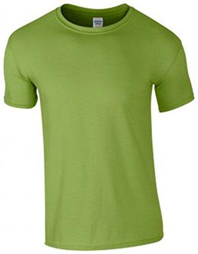 Gildan, SoftStyle, t-shirt in cotone pettinato Kiwi XL