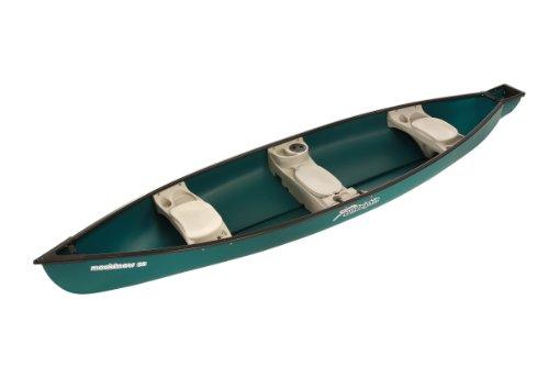 Sun Dolphin Mackinaw SS Canoe (Green, 15'6')