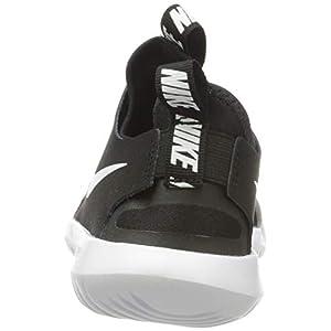 Nike Boy's, Flex Runner Sneaker - Big Kid Black/White 5.5 M