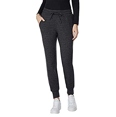 32 DEGREES Ladies' Fleece Jogger, Variety (Heather Charcoal, Large)