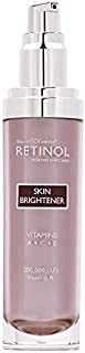 Retinol Skin Brightener – The Original Retinol Brand – Skin Tone Corrector Smooths & Rejuvenates Face for Healthy Glow – Minimizes Fine Lines & Wrinkles with Plant & Fruit Extracts, Vitamin A, C & E