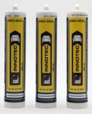 Innotec Innoseal Klebe- und Dichtmasse, schwarz, 4 Kartusche 290 ml