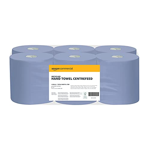 Amazon Commercial Hand Towel Centre Feed (Pack of 6) - 2700 Sheets