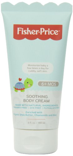 Price comparison product image Fisher-Price Infant Soothing Body Cream,  6 Fluid Ounce