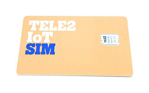 Simmotrade® M2M SIM Karte für GPS Ortung, Smart Home, Sicherheit, Sensorik, Datenübertagung, Smart City (Micro)