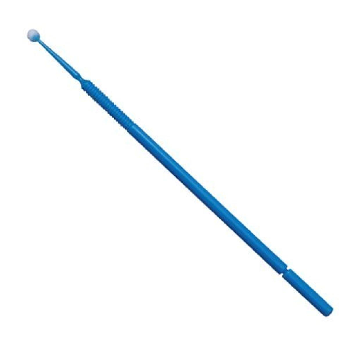 傷つきやすい暖かくアブストラクトマイクロアプリケーター(マイクロブラシ) レギュラー:φ2.0mm、ブルー/ 1箱100本