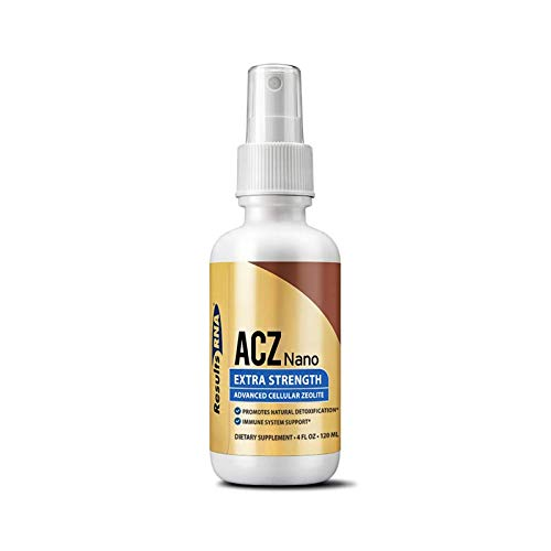 Results RNA ACZ Nano Advanced Cellular Zeolite Extra Strength | Great for Total Body Detoxification and Immune System Support(4 Ounce)